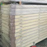 Фабрика сразу поставляет панель /PU полиуретана изоляции холодной комнаты