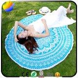 カスタマイズされた反応印刷の円形のビーチタオル