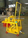 小さい煉瓦機械Qmy2-45移動式煉瓦作成機械