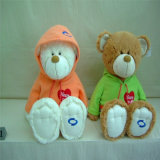 Orso su ordinazione dell'orsacchiotto del giocattolo della peluche del regalo di promozione di Cpsc