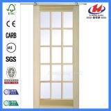 Дверь среднего восточного окна конструкции популярная стеклянная (JHK-G24)