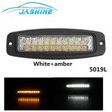 Des Doppeldes farben-Gelb-weißes LED Arbeits-Licht Arbeits-Licht-4X4