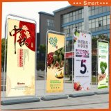 La promotion de la publicité de plein air Door-Type stand stand Banner