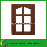 Projeto de vidro da porta da cozinha da venda quente/portas de gabinete dianteiras de vidro da cozinha