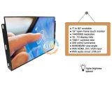 Abra a Estrutura 19 Polegadas Monitor LCD de ecrã táctil com porta USB para RS232 (MW-192MET)
