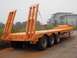 Heavy Duty lit basse camion semi-remorque à 3 essieux