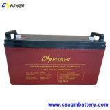 12V 120Ah Batterie au gel à cycle profond pour Marine/Chariot élévateur à fourche/Système Solaire