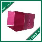 풀 컬러 인쇄된 작은 분홍색 Rsc 골판지 상자