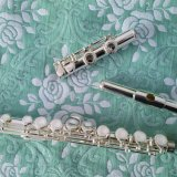 16 Holes E Mechanism Cupronickel Silver Punt Flutes