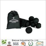Bolas negras del secador del lavadero de las lanas para las cargas oscuras