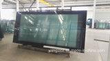 El bastidor de gran tamaño de pantalla de seda de vidrio de anuncios impresos
