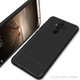 Huaweiの仲間9のための新しいカーボンファイバーTPUの電話箱
