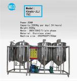 Installatie van de Raffinaderij van de Ruwe olie van het roestvrij staal de Mini