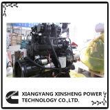 Motor diesel 4BTA3.9-C100 de Dcec Dongfeng Cummins para el proyecto de Engneering del sector de la construcción