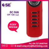 Высокое качество солнечного DC пьедестал электровентилятора системы охлаждения двигателя с помощью света (LSF-16K-красный)