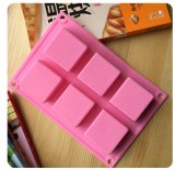 Commerce de gros Handmade DIY moule silicone le pain de savon Rectangle
