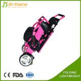 Светлая портативная кресло-коляска силы электрической кресло-коляскы с ограниченными возможностями складывая