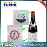 Tag frágil do vinho da Anti-Falsificação NFC RFID