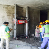 Mur automatique initial plâtrant la machine de construction