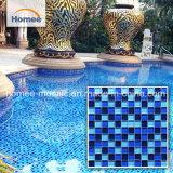 China mosaicos de vidrio Piscina Antideslizante azulejos para la venta