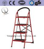 鋼鉄が付いている優秀な品質の世帯の梯子