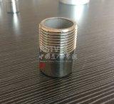 Edelstahl-Befestigung geschweißter einzelner männlicher externer Gewinde-Zylinder-Nippel