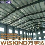 Estructura de acero industrial prefabricada de la estructura de azotea del almacén de ultramar