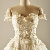 weg Schulter-Spitzesequin-vom Brauthochzeits-Kleid