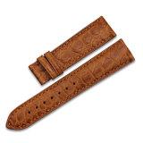 Cinta de relógio de alta qualidade do couro genuíno