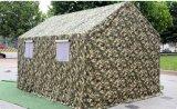8-10キャンバスの綿のテントを持つ軍隊のための人