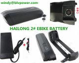 10s36V15Ah Downtube Batería de litio para el plegado de e-bici batería de alimentación