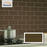 Diseño hermoso color marrón Cocina Backsplash baldosas de cerámica Mosaico Metro