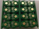 Fr4二重側面PCBのボードが付いている自動2layer緑のはんだマスクPCB