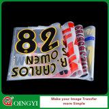 Etiqueta da transferência térmica do preço da fábrica de Qingyi boa para Texitle