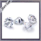 4.5 캐럿 10.5mm 둥근 다이아몬드는 Moissanite 돌을 풀었다