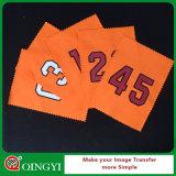 Mayorista Qingyi buena calidad Etiqueta de la transferencia de calor para Texitle