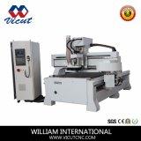 Il cambiamento automatico di disegno lineare lavora la macchina di CNC