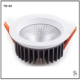 Iluminación interior regulable de 30W Downlight LED