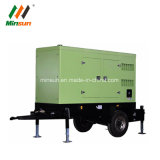 Hete Verkoop! 10kw Diesel van het Type van aanhangwagen Stille Generator