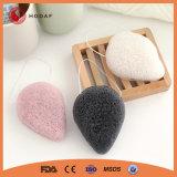 Nettoyage du visage cosmétique naturelle de la bouffée d'éponge propre éponge beauté du visage