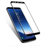 Pellicola trasparente piena della protezione dello schermo curva 3D di vetro Tempered della pellicola di vetro dello schermo di tocco per la galassia S8 di Samsung