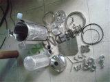 Chunke Stailess Stahlbeutelfilter-Gehäuse-Laufkatze-Typ