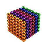 Bolas magnéticas coloridas del regalo de la Navidad