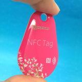 Tag Epoxy da lealdade NFC da gota do programa Ntag213