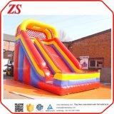 Campo de jogos inflável inflável da ligação em ponte do PVC da classe comercial do salto para miúdos