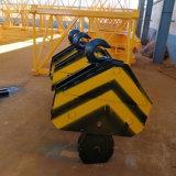 costruzione 6t che sviluppa auto idraulico che erige la gru a torre di Topkit della testa di martello del fiocco di 50m