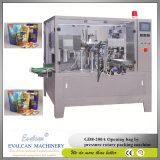 Automatische reinigende Puder-Verpackungsmaschine mit Stangenbohrer-Einfüllstutzen