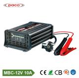 De draagbare Lader van de Batterij van de Auto van het Lood van de Lader 12V 10A Zure
