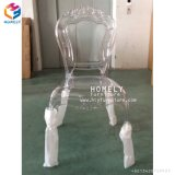 Boda Belle sillas de jardín silla transparente