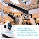 P2p seguridad doméstica de la cámara IP con IR LED y audio bidireccional
